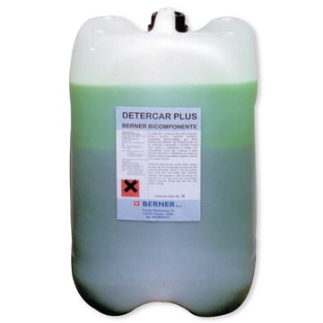 Detergente detercar plus bicomponente tanica 25 chili